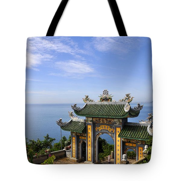 Archway By The Sea Tote Bag