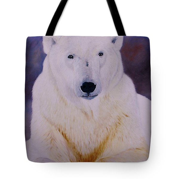 Arcqtic Majesty Tote Bag
