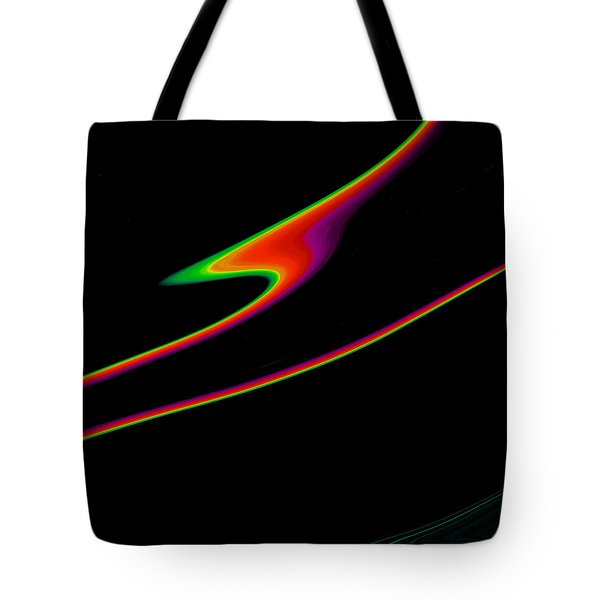Tote Bag featuring the painting Arcs  C2014 by Paul Ashby