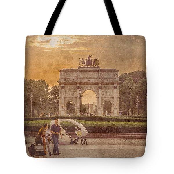 Paris, France - Arcs Tote Bag