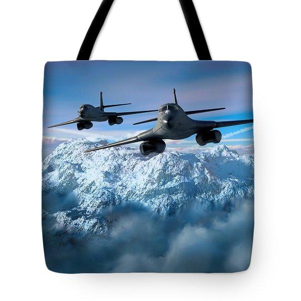 Arctic Blitz Tote Bag