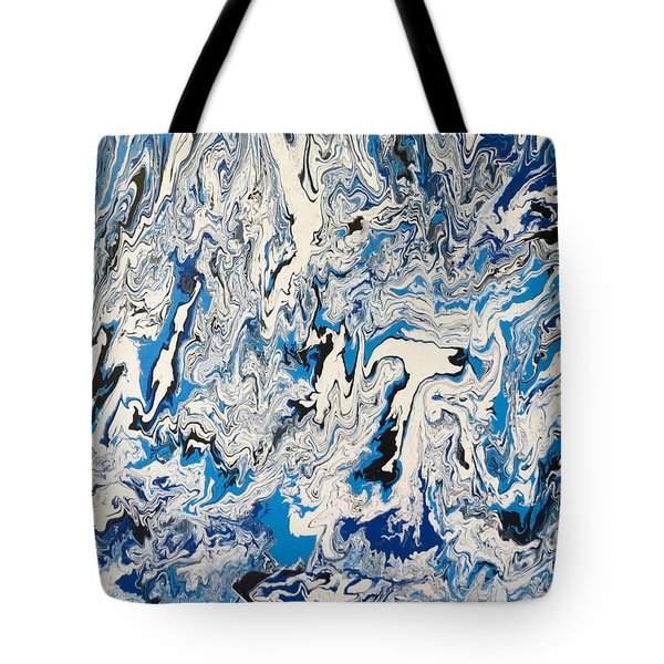 Arctic Frenzy Tote Bag