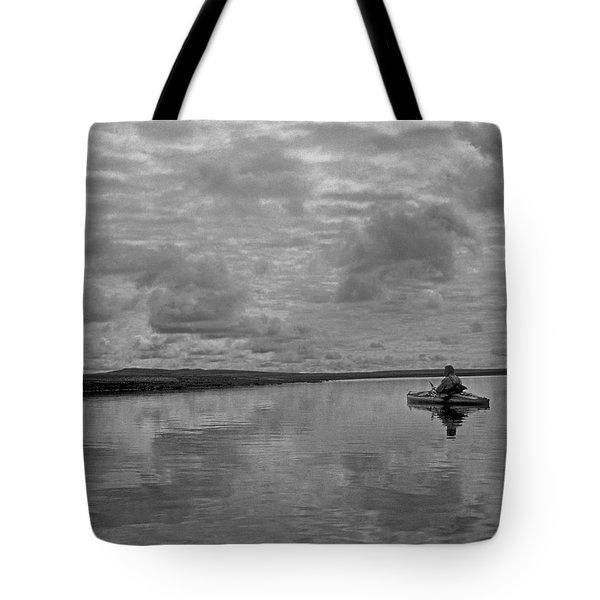Arctic Kayak Tote Bag