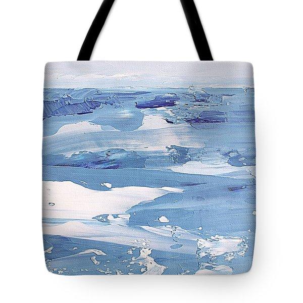 Arctic Ocean Tote Bag