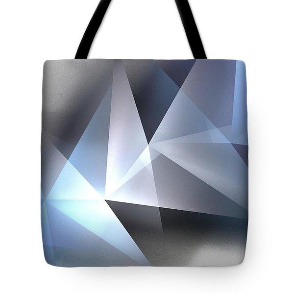 Arctic Pyramids Tote Bag