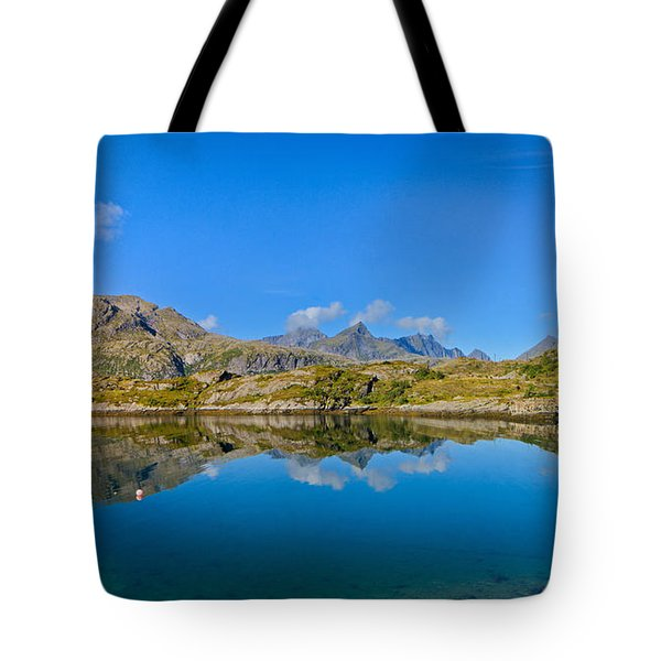 Arctic Reflections Tote Bag