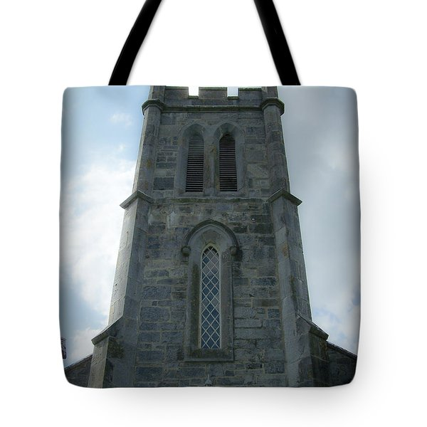 Ardcroney Church County Clare Ireland Tote Bag by Teresa Mucha