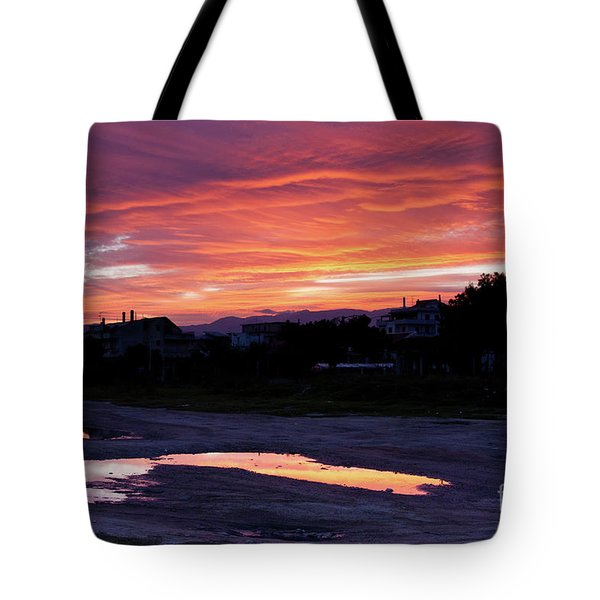 Tote Bag featuring the photograph Ardore, Calabria Town by Bruno Spagnolo