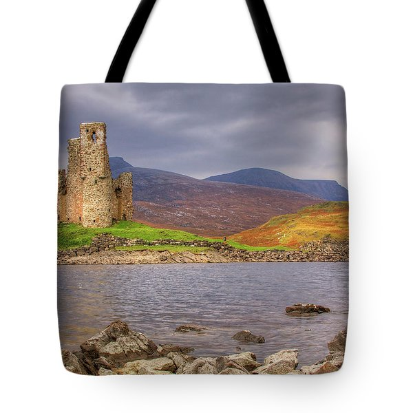 Ardvreck Castle Tote Bag