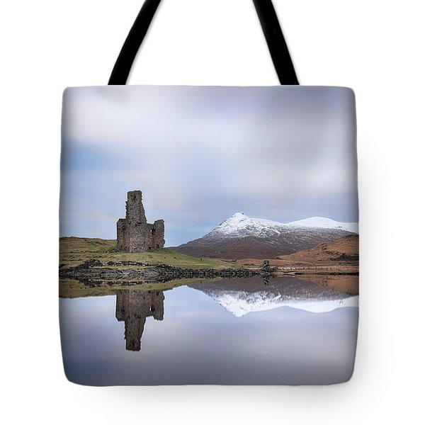 Ardvreck Castle Reflection Tote Bag