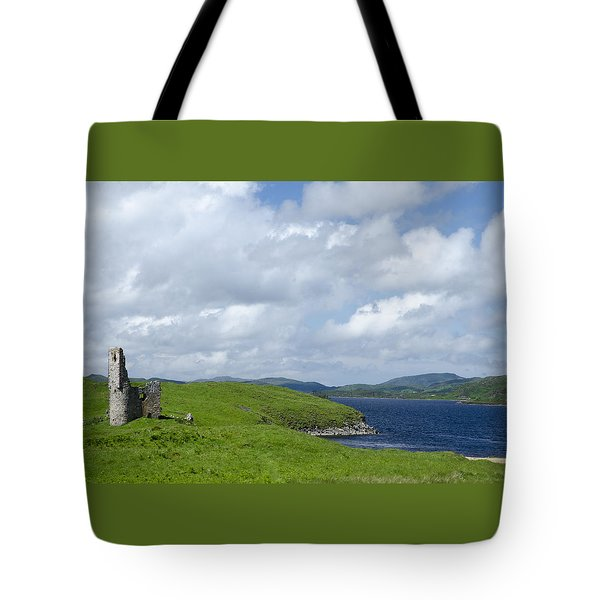 Ardvreck Castle Tote Bag by Sally Ross