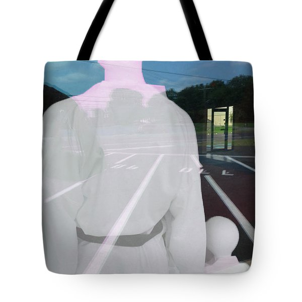 Tote Bag featuring the photograph Are We There by Lyric Lucas