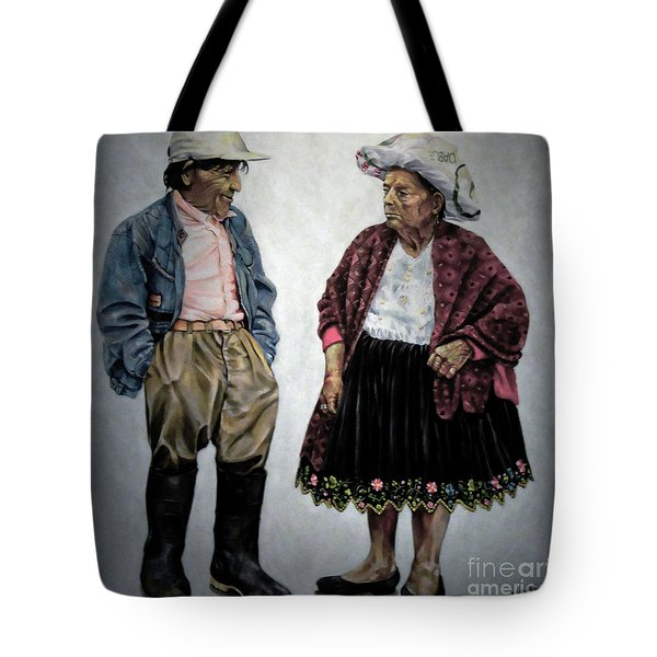 Are You Going To Town Like That? Tote Bag