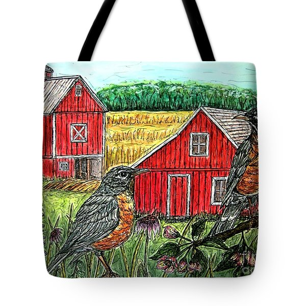 Are You Sure This Is The Way To St.paul? Tote Bag by Kim Jones