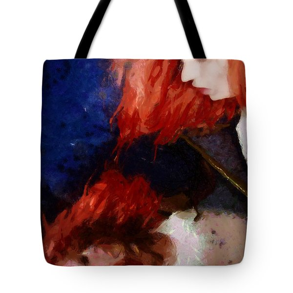 Are You There My Mirror Twin Tote Bag by Gun Legler
