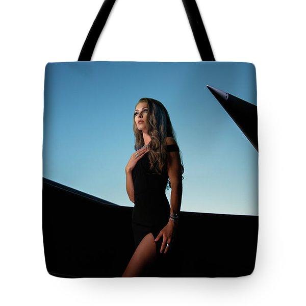 Area 71 Piercing Tote Bag