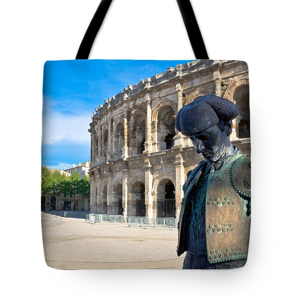 Arenes De Nimes Bullfighter Tote Bag