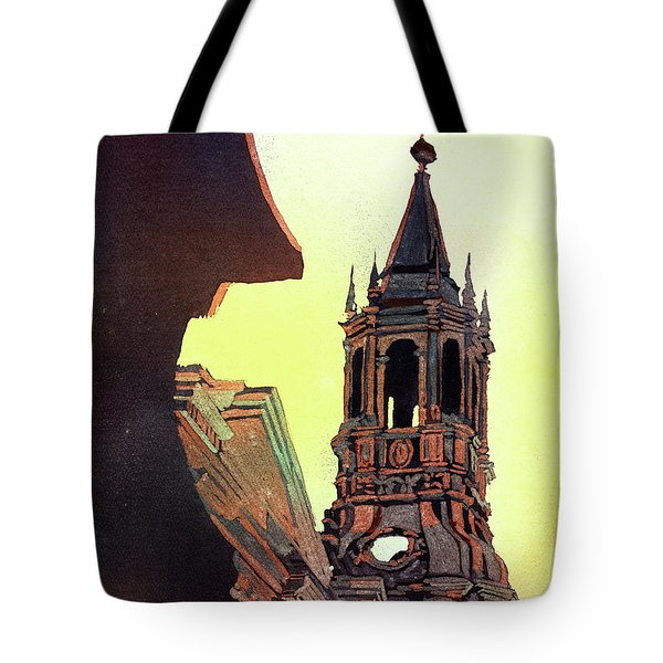 Arequipa Cathedral- Peru Tote Bag