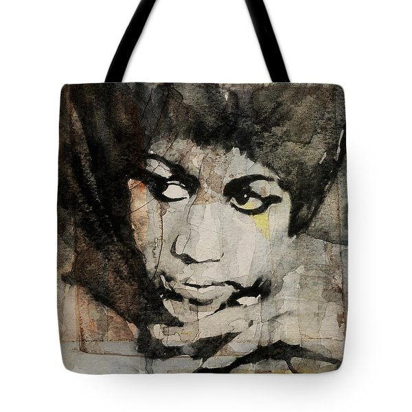 Aretha Franklin - Don't Play That Song For Me  Tote Bag