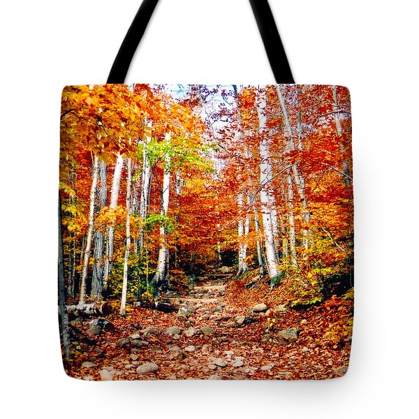 Arethusa Falls Trail Tote Bag