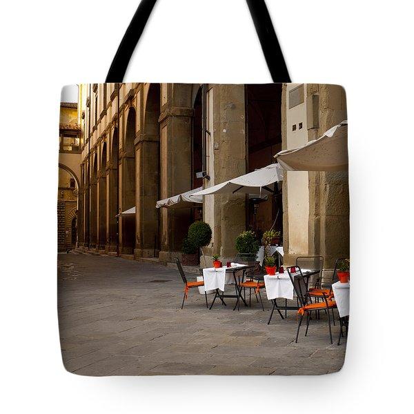 Arezzo Patio Tote Bag by Rae Tucker