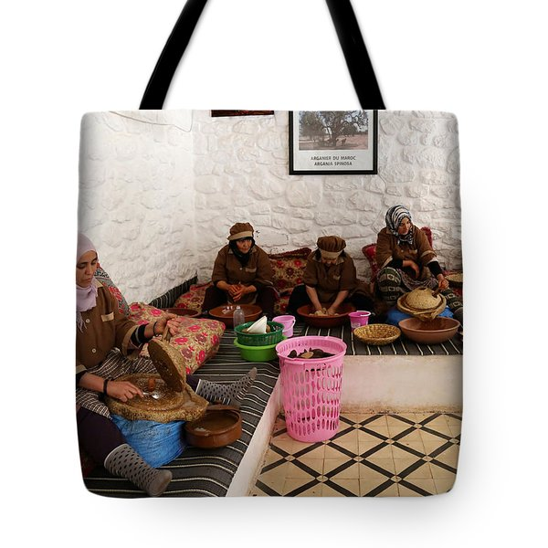 Tote Bag featuring the photograph Argan Oil 1 by Andrew Fare