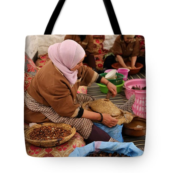 Tote Bag featuring the photograph Argan Oil 2 by Andrew Fare