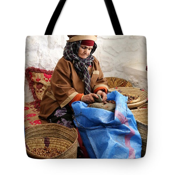 Tote Bag featuring the photograph Argan Oil 3 by Andrew Fare