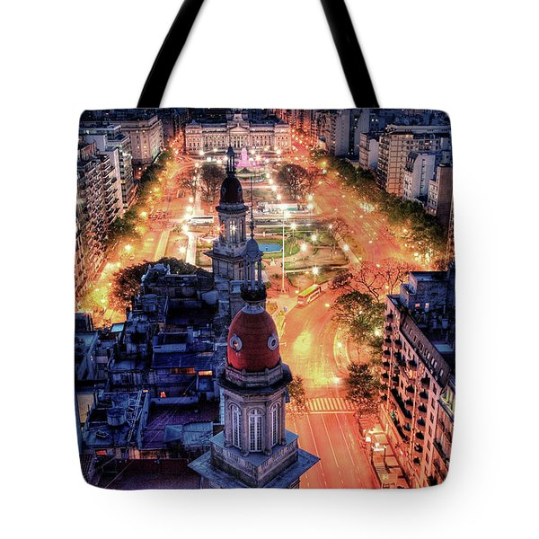 Argentina National Congress Tote Bag