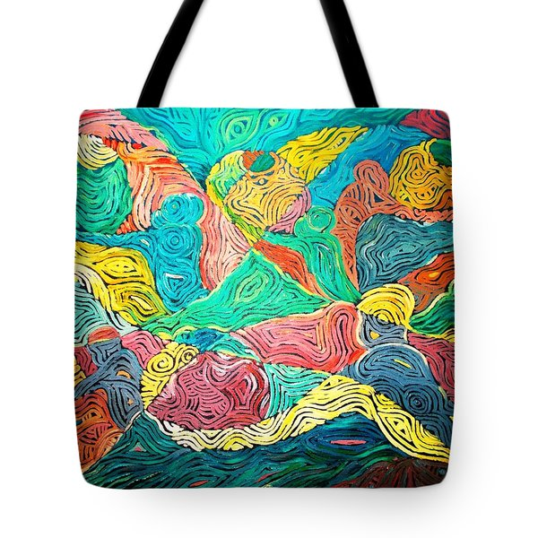 Argungun Fishing Festival Tote Bag by Bankole Abe