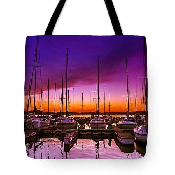 Ariana's Sunset Tote Bag