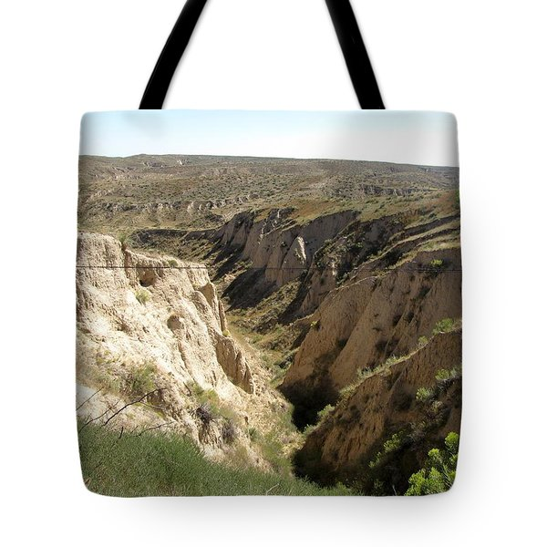 Arikaree Breaks Canyon Tote Bag