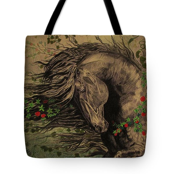 Aristocratic Horse Tote Bag