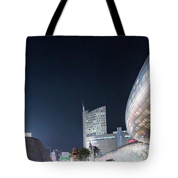 Aritficial Daylight Tote Bag by Hyuntae Kim