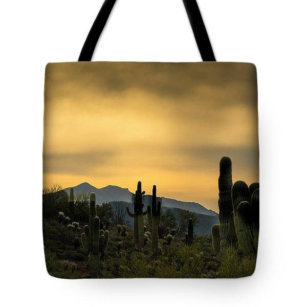 Arizona And The Sonoran Desert Tote Bag