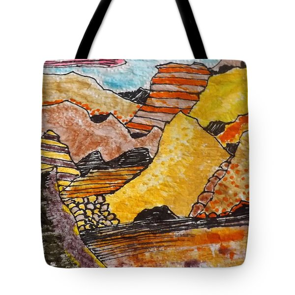 Arizona Canyons Tote Bag