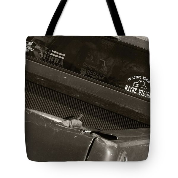 Arizona Cowboy Truck I Tote Bag