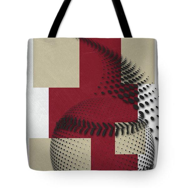 Arizona Diamondbacks Art Tote Bag