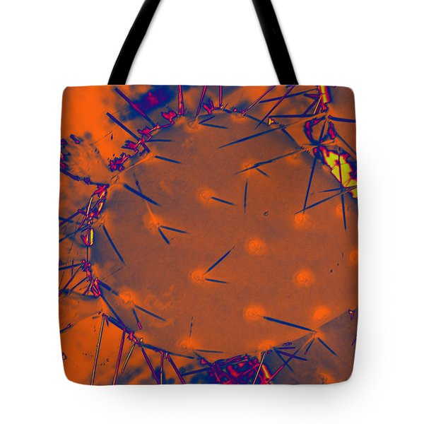 Tote Bag featuring the painting Arizona Flame II by Carolina Liechtenstein