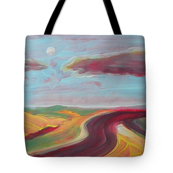 Arizona Highway 2 Tote Bag