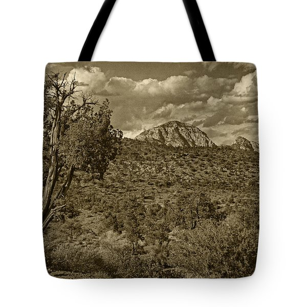 Arizona Landscape Tint Tote Bag