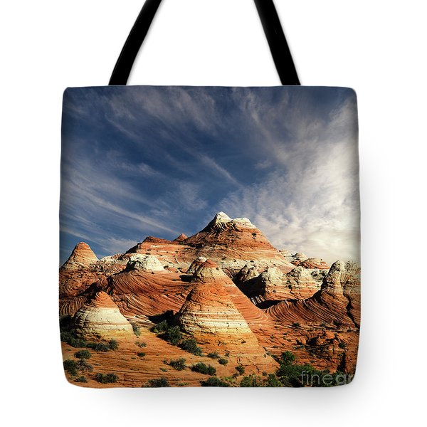 Arizona North Coyote Buttes Tote Bag by Bob Christopher