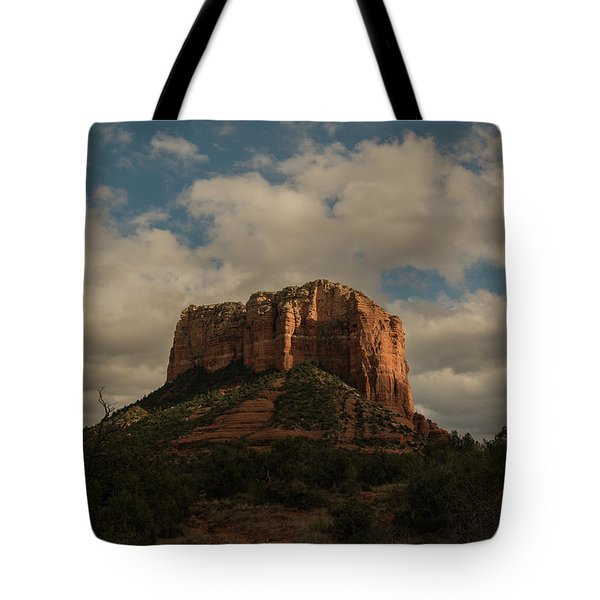 Arizona Red Rocks Sedona 0222 Tote Bag by David Haskett