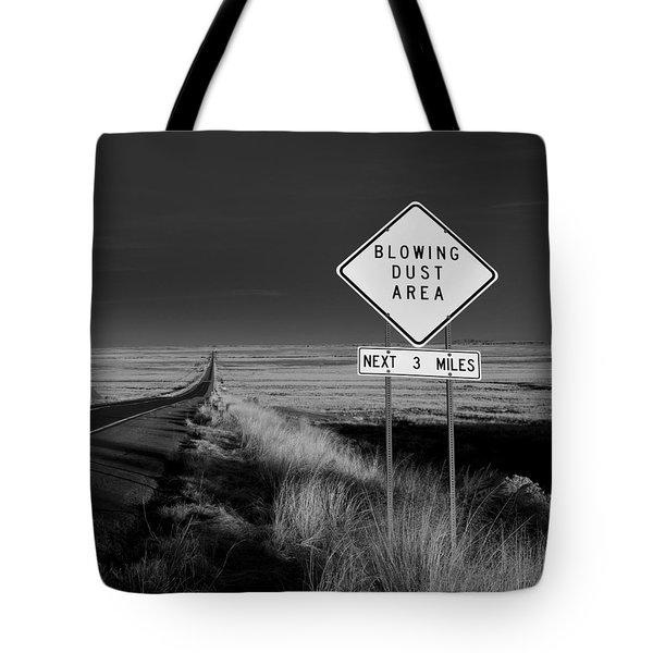Arizona Road Tote Bag