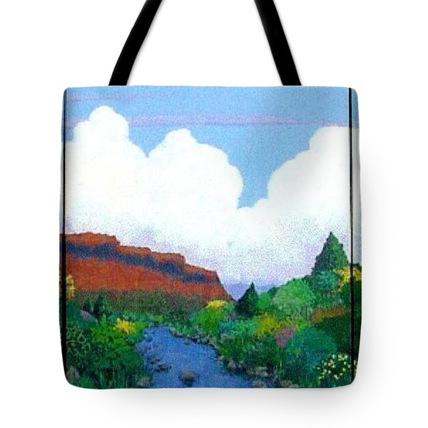 Arizona Sky Tote Bag by Bernard Goodman