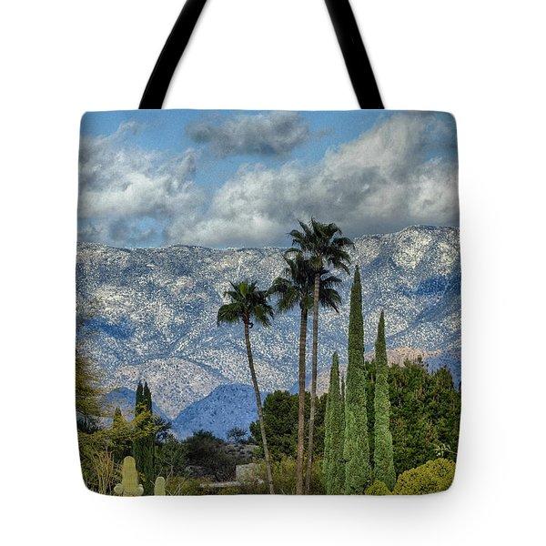 Arizona Snow Tote Bag