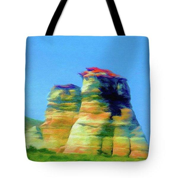 Arizona Spring Tote Bag by Jeff Kolker