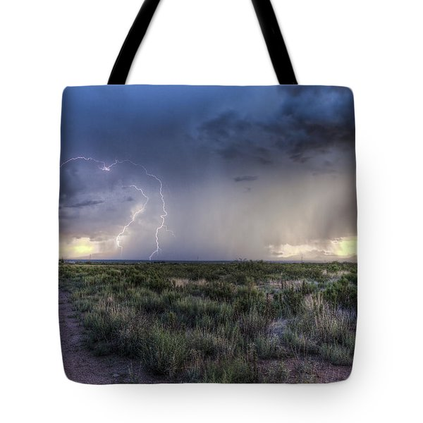 Arizona Storm Tote Bag