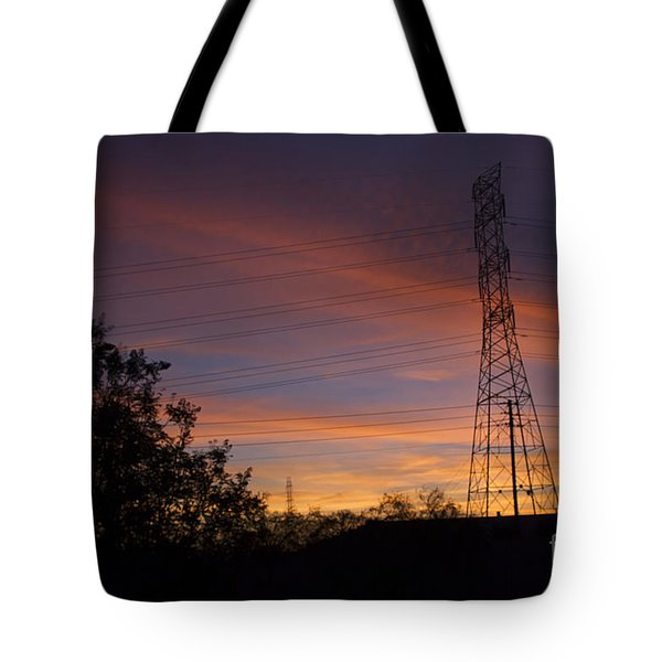 Tote Bag featuring the photograph Arizona Sunset #2 by Anne Rodkin