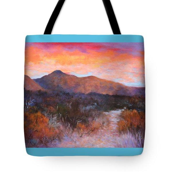 Arizona Sunset 3 Tote Bag